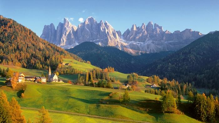 Климат в Италии