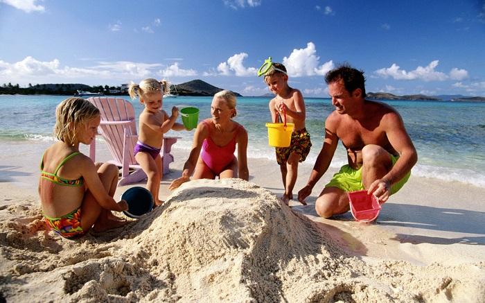 Пляжные курорты для семейного досуга