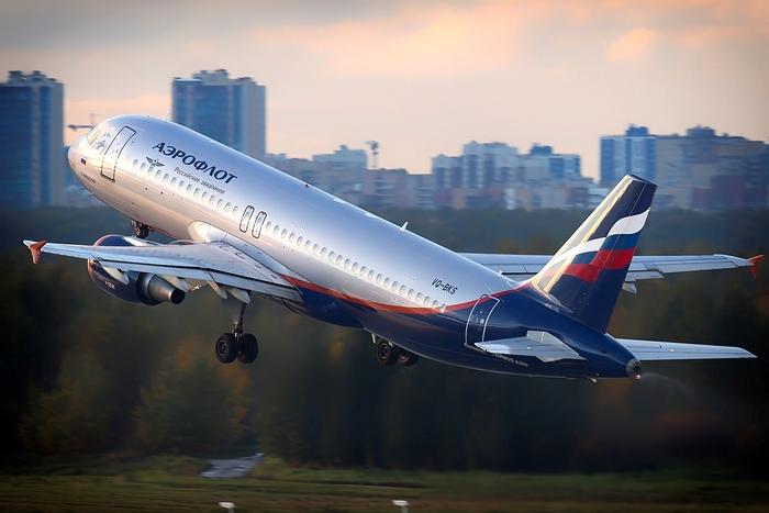 Самолет Москва - Сочи