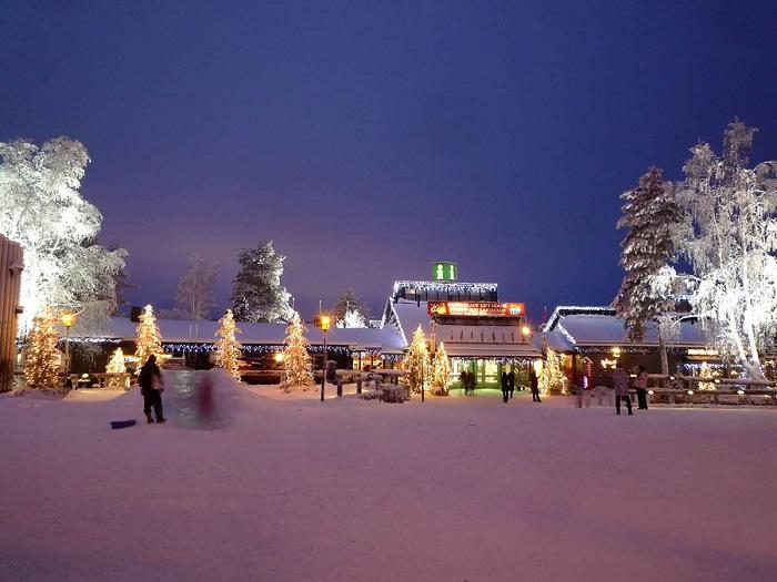 Северная красота Финляндии: в гости к Санта-Клаусу