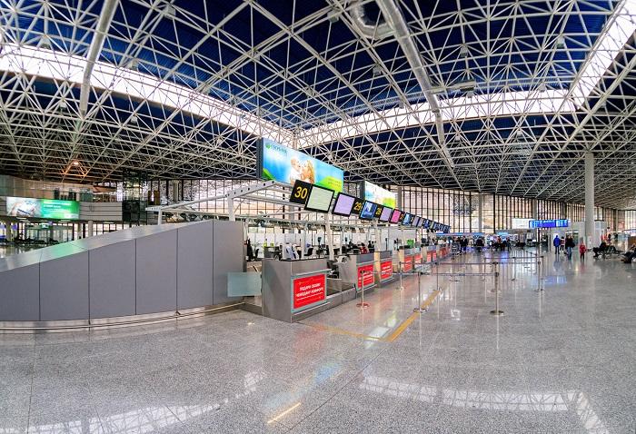 Сообщение аэропорта с городом