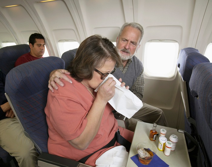 Таблетки от укачивания и тошноты в самолете