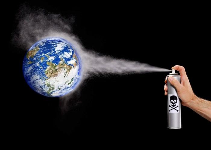 Воздействие на озоновый слой атмосферы