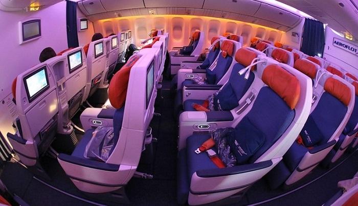 Описание класса «Комфорт» у авиакомпании «Аэрофлот»