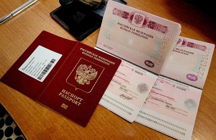 Использование паспорта международного образца