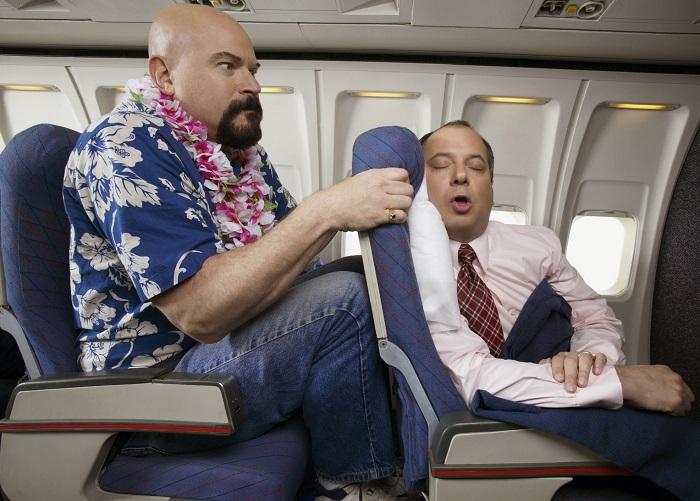 Определение номера кресла в самолете