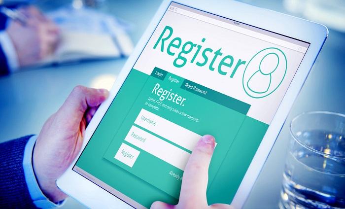Электронная регистрация без специального терминала