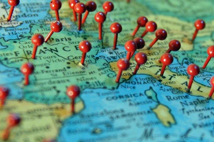 Популярные направления для путешествий чартерами