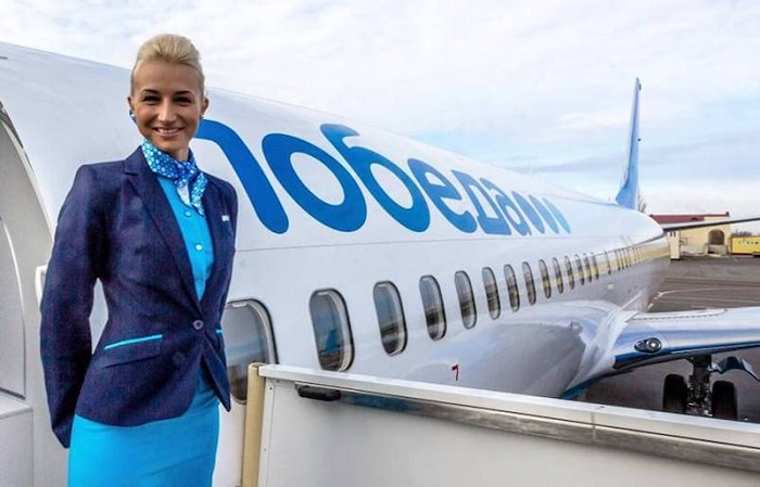 Лайнеры авиакомпании «Победа»