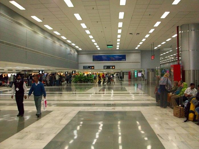 Действующие терминалы международного аэропорта