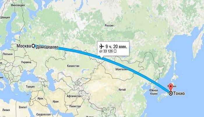Нюансы воздушного пути из Москвы в Японию