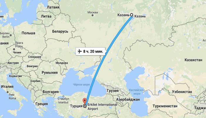 Какое расстояние придется преодолеть путешественникам