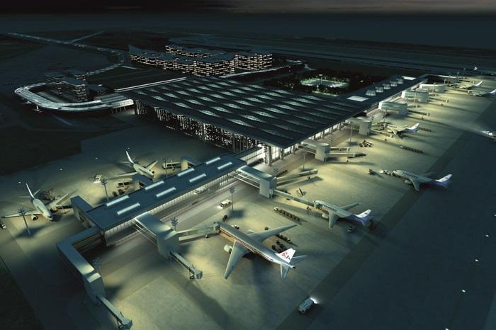 Инфраструктура и услуги воздушного порта LED