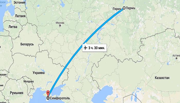 Что нужно знать, собираясь в Крым из Перми на самолете