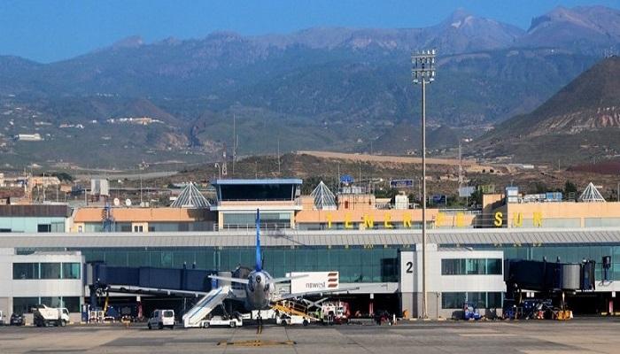 Где находится аэропорт острова Тенерифе
