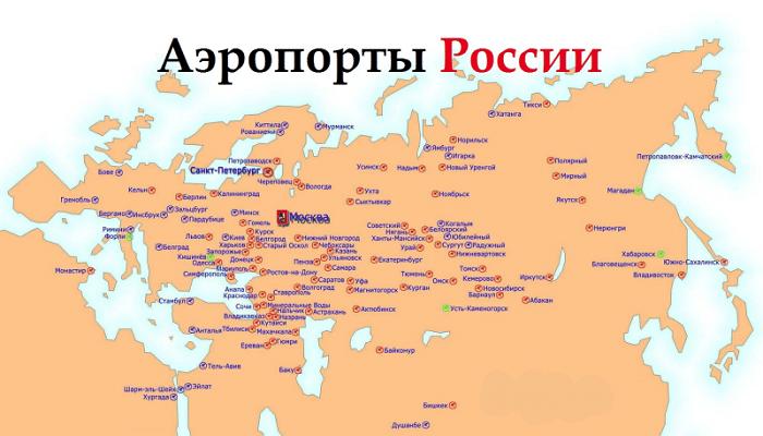 Российские аэровокзалы