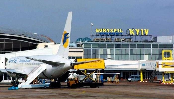 Описание международных аэропортов Украины