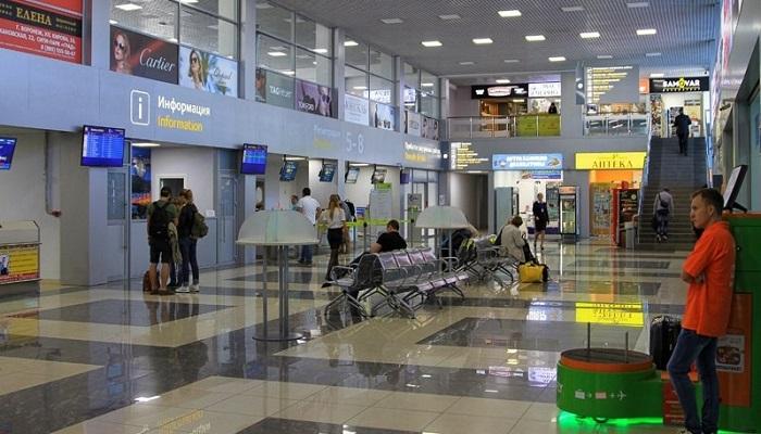 Новое обустройство аэровокзала