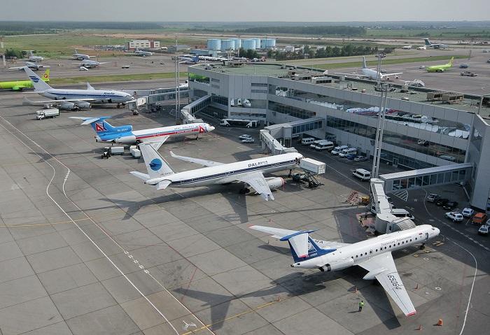Структура авиасообщения России