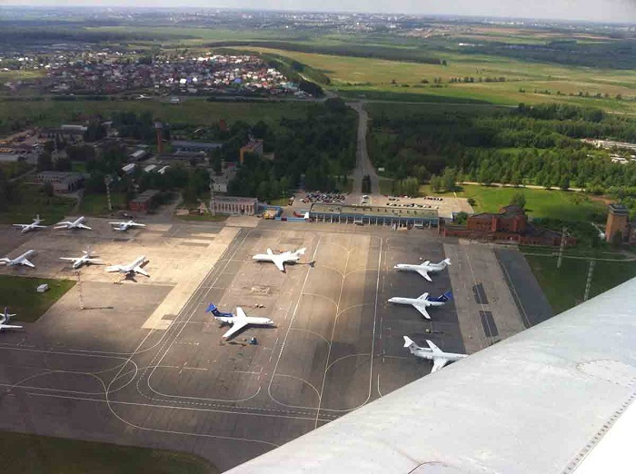 Как выглядит аэропорт Ижевска сейчас