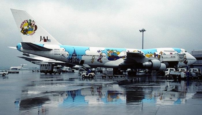 Из России в Японию на самолете