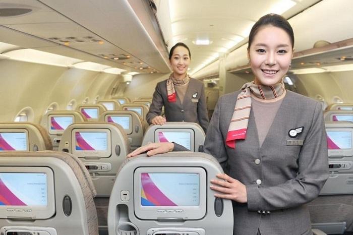 Услуги, предоставляемые авиакомпанией
