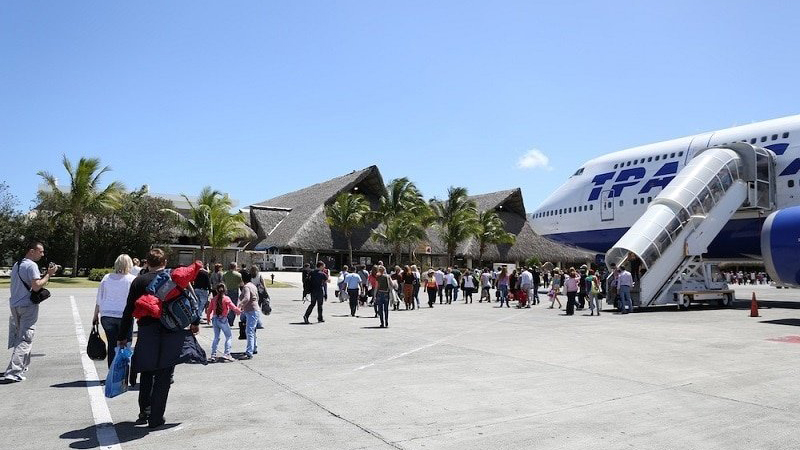 Аэропорты Самары и Доминиканы