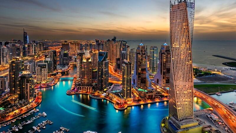 Прямой рейс Москва — Дубай