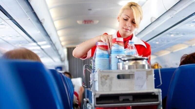 Сервис на борту самолета