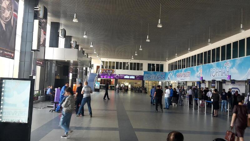 Аэропорт Махачкалы