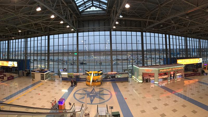 Аэровокзал города Владивосток