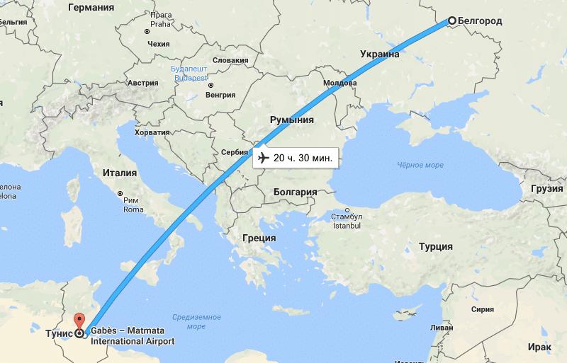 Особенности перелета из Белгорода прямым рейсом