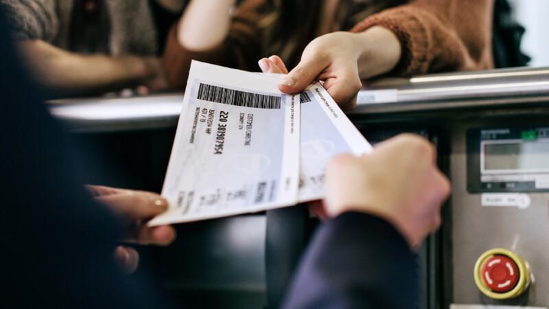 Приобретение билета на прямой рейс