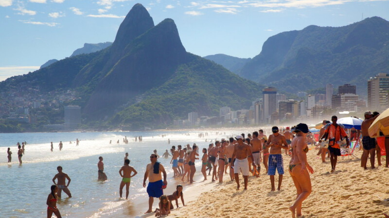 Туристический сезон в Бразилии
