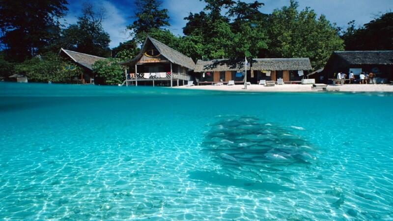 Азиатский курорт