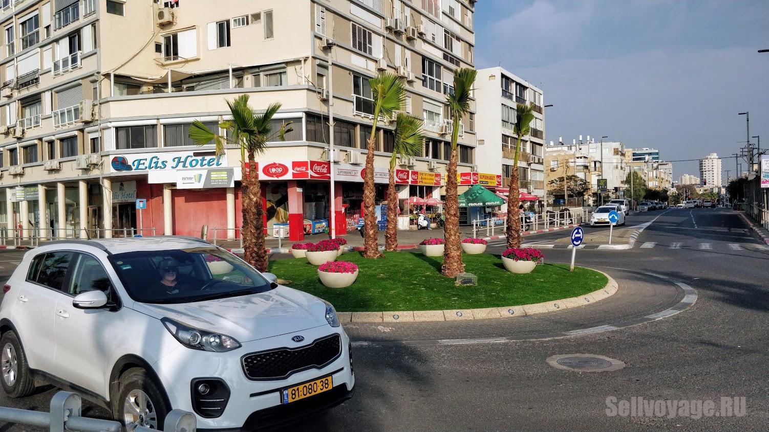 На арендованном в Израиле автомобиле по набережной Бат-Яма