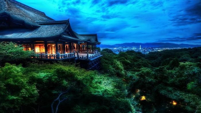 Тихий и спокойный отдых в Японии