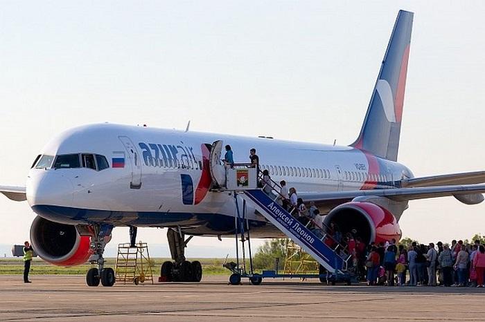 Общая информация о деятельности Azur Air