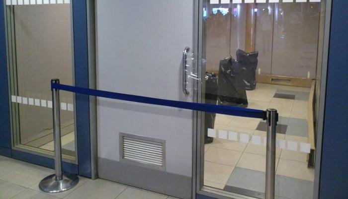 Официальные зоны для курения в московском аэровокзале