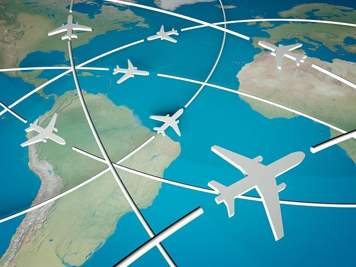 Охват полетов с авиакомпанией S7 Сибирь
