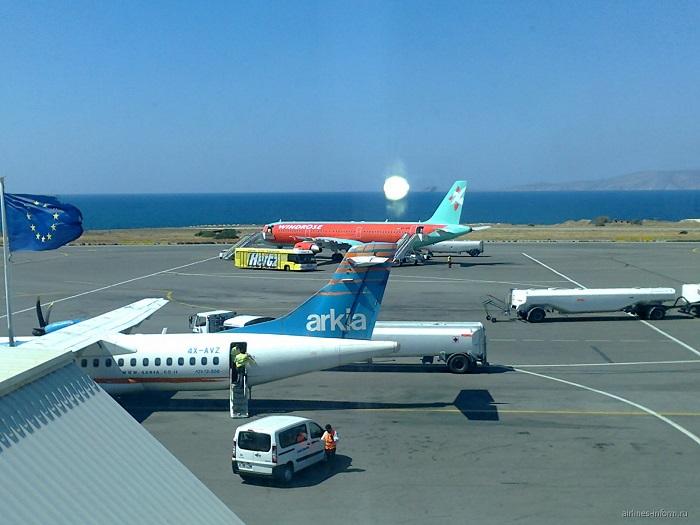 Сколько аэропортов на Крите?