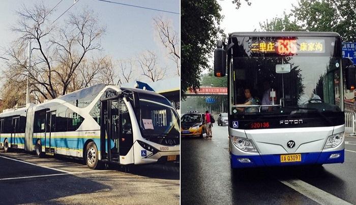 Автобус до центра Пекина