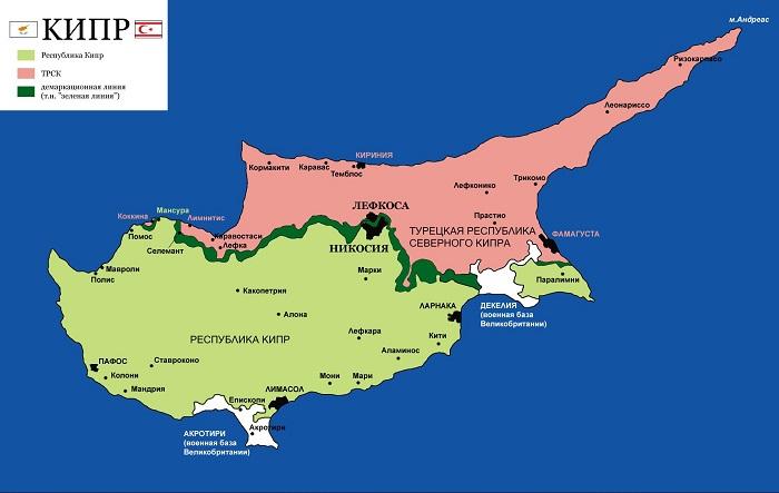Нужна ли виза на Кипр для россиян в 2017 году