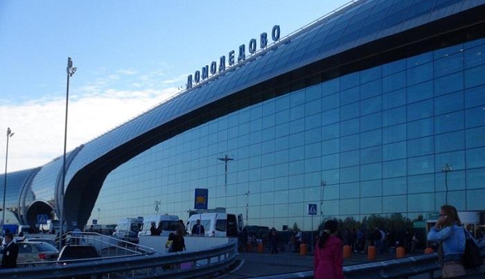 Регистрируемся на рейс в Домодедово