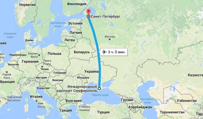 Организация авиапутешествия в Крым