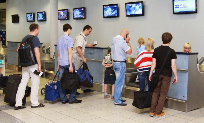 Условия регистрации в аэропорту