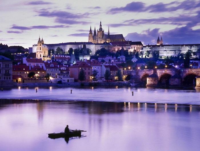 Как протекает полёт Санкт-Петербург – Прага – Санкт-Петербург