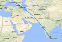 Сколько лететь до Шри-Ланки из Краснодара