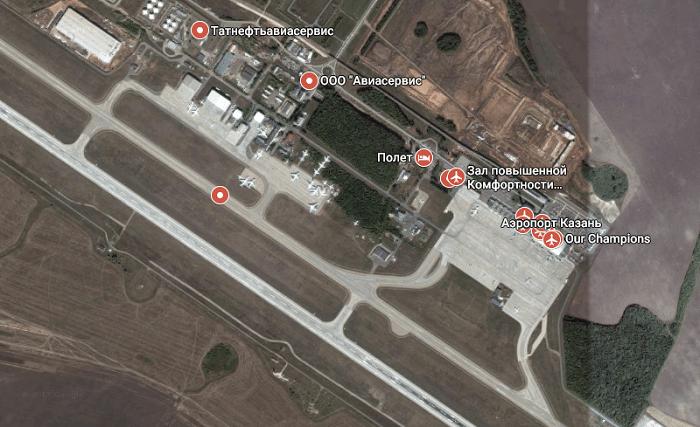 Исторические факты, основные даты функционирования аэропорта Казани