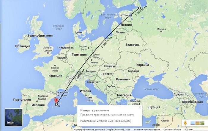 Самый быстрый способ путешествия – прямой перелет